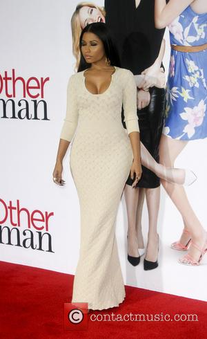 Nicki Minaj - Film Premiere of The Other Woman - Los Angeles, California, United States - Tuesday 22nd April 2014