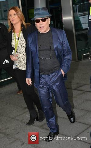 Paul Simon - Paul Simon at Dublin Airport event hosted by Marian Finucane where he unveiled the new 4 metre...