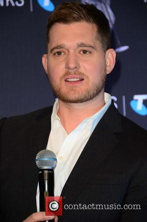 Michael Buble - Michael Buble at press conference promoting his new and upcoming Australian Tour at the Inter-continental Hotel Sydney...