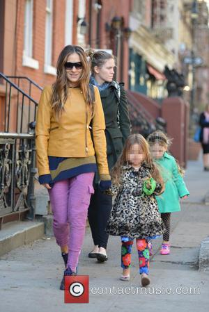 Sarah Jessica Parker, Sarah Jessica. Parker, Marion Broderick, Tabitha Broderick and James Broderick