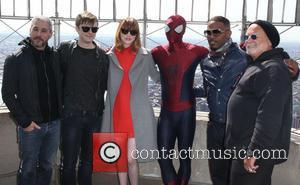 The Casts, Matthew Tolmach, Dane Dehaan, Emma Stone, Spider Man, Jamie Foxx and Avi Arad