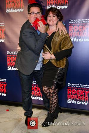 Guy Rossi and Partner - Rocky Horror Show opening night - Arrivals - Melbourne, Australia - Saturday 26th April 2014