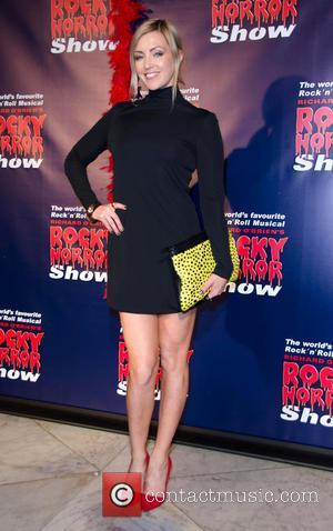 Jacinta Stapleton - Rocky Horror Show opening night - Arrivals - Melbourne, Australia - Saturday 26th April 2014