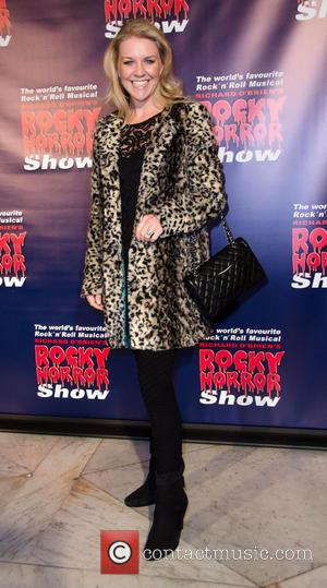 Lauren Newton - Rocky Horror Show opening night - Arrivals - Melbourne, Australia - Saturday 26th April 2014