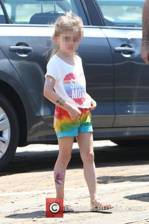 Anja Mazur - Alessandra Ambrosio with fiancé Jamie Mazur and their son Noah and daughter Anja spend the day on...