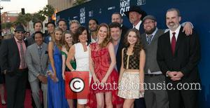 Patricia Heaton, Sarah Drew, Sean Astin, Sammi Hanratty, Trace Adkins and guests - Moms Night Out Premiere at TCL Chinese...