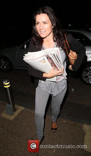 Susanna Reid - The presenters of Good Morning Britain arriving at the ITV studios - London, United Kingdom - Wednesday...