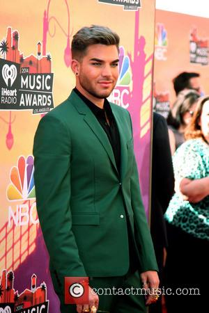 Adam Lambert - 2014 iHeartRadio Music Awards held at The Shrine Auditorium -Arrivals - Los Angeles, California, United States -...