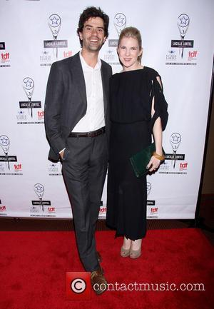 Hamish Linklater and Lily Rabe - 2014 Lucille Lortel Awards held at the NYU Skirball Center -  Arrivals. -...