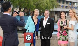 Kiefer Sutherland and Yvonne Strahovski - Premiere of '24: Live Another Day' held at Old Billingsgate Market - London, United...