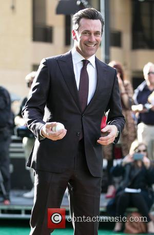 Three Guesses At What Jon Hamm Did When He Was Confronted With A Waxwork Of Himself...