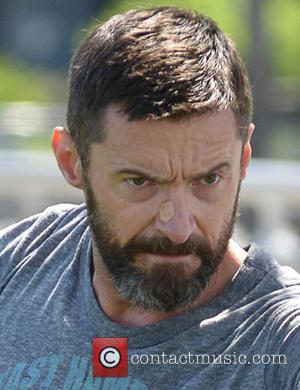 Hugh Jackmsn - Hugh Jackman working out in the park for his up coming Peter Pan movie - Manhattan, New...