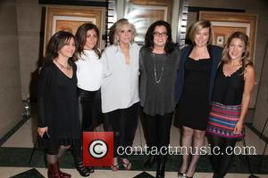 L To R, Stacey Reiss, Carlye Rubin, Sheila Nevins, Rosie O'donnell, Ginger Williams-cook and Katie Green
