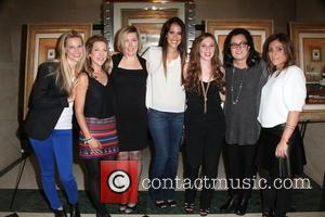 L To R, Tina Grapenthin, Katie Green, Ginger Williams-cook, Leticia Guimares-lyle, Jordyn Levine, Rosie O'donnell and Carlye Rubin