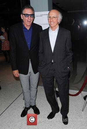 Michael Richards and Larry David