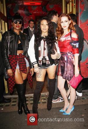 Keisha Buchanan, Mutya Buena and Siobhán Donaghy - Miley Cyrus afterparty at Madame Jojo's Night Club in Soho - London,...
