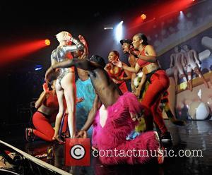 Miley Cyrus - Miley Cyrus performs live at G-A-Y - London, United Kingdom - Friday 9th May 2014