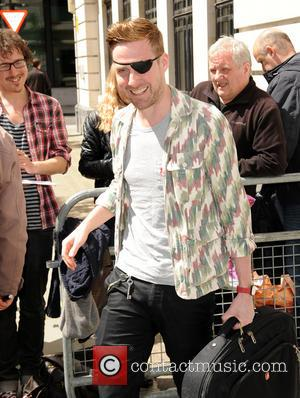 Ricky Wilson - Ricky Wilson leaves the BBC studios wearing an eye patch - London, United Kingdom - Monday 12th...