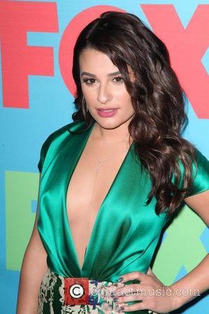Lea Michele - 2014 NBC Upfront Presentation at The Jacob K. Javits Convention Center - Arrivals - New York City,...