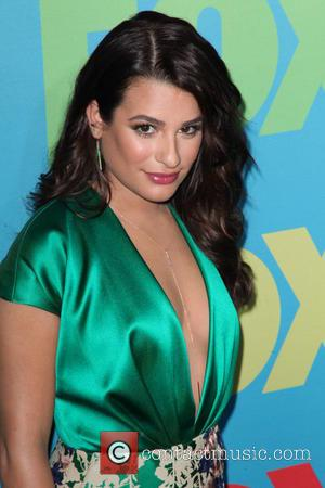 Lea Michele - 2014 NBC Upfront Presentation at The Jacob K. Javits Convention Center - Arrivals - New York City,...