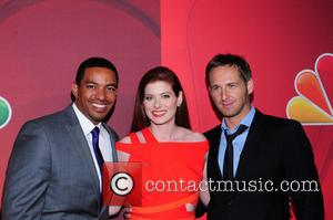 Laz Alonso, Debra Messing and Josh Lucas
