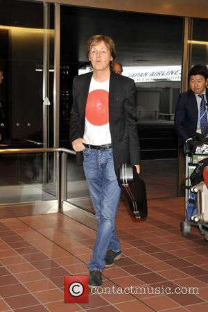 Paul McCartney - Paul McCartney arrives at Narita International Airport in Tokyo - Tokyo, Tokyo, Japan - Thursday 15th May...