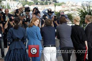 Léa Seydoux and cast - The 67th Annual Cannes Film Festival - 'Yves Saint Laurent' - Photocall - Cannes, France...