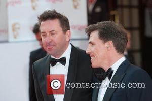 Lee Mack and Rob Brydon - Arqiva British Academy Television Awards held at the Theatre Royal, Drury Lane - Arrivals....