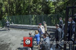 Donald Tusk and Principe Harry - Prince Harry visits Monte Cassino in Italy for the anniversary of a key World...