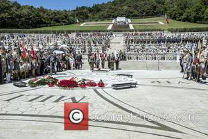 Monte Cassino - Prince Harry visits Monte Cassino in Italy for the anniversary of a key World War II battle...