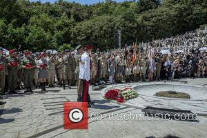 Principe Harry - Prince Harry visits Monte Cassino in Italy for the anniversary of a key World War II battle...