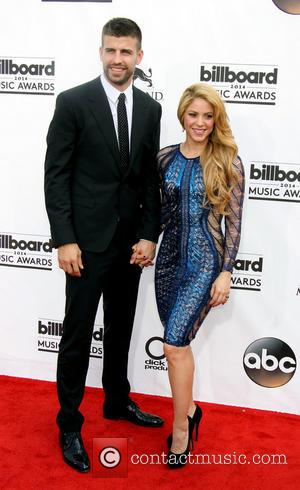 Shakira and Gerard Pique - 2014 Billboard Awards held at the MGM Grand Resort Hotel and Casino - Arrivals -...