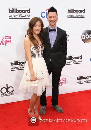 Weylie Hoang and Guest - 2014 Billboard Awards Red Carpet at the MGM Grand Resort Hotel and Casino - Las...
