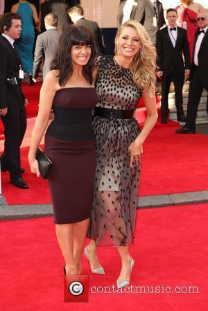 Claudia Winkleman and Tess Daly - The Arqiva British Academy Television Awards 2014 (BAFTA) - Arrivals - London, United Kingdom...