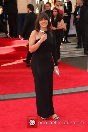 Davina McCall - The Arqiva British Academy Television Awards 2014 (BAFTA) - Arrivals - London, United Kingdom - Sunday 18th...