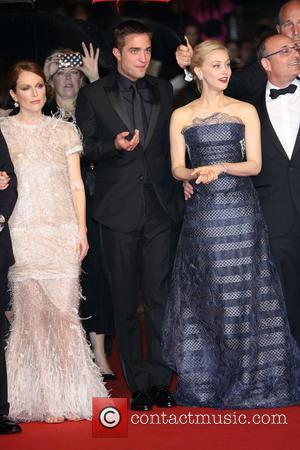 Julianne Moore (l-r) and Robert Pattinson & Sarah Gadon - The 67th Annual Cannes Film Festival - 'Maps to the...