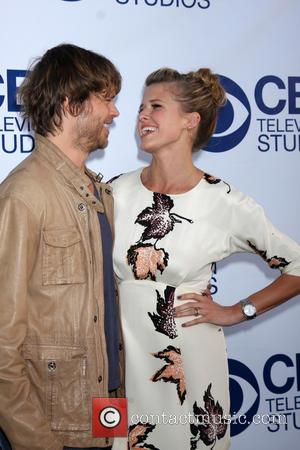Eric Christian Olsen and Sarah Wright - CBS Television Studios 'SUMMER SOIREE' at The London Hotel in West Hollywood -...