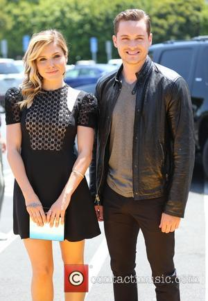 Sophia Bush and Jesse Lee Soffer - Sophia Bush and Jesse Lee Soffer appear on Extra hosted by Mario Lopez....