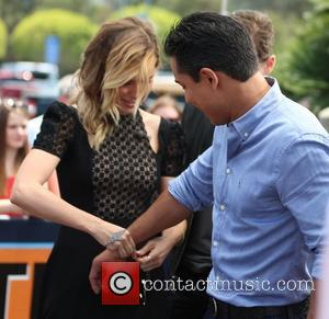 Sophia Bush and Mario Lopez - Sophia Bush and Jesse Lee Soffer appear on Extra hosted by Mario Lopez. Sophia...