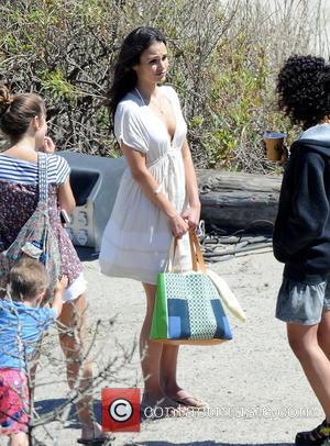 Jordana Brewster - Vin Diesel filming last scenes for