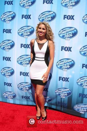 Haley Reinhart - American Idol Season 13 Finale - Arrivals and Press Room - Los Angeles, California, United States -...