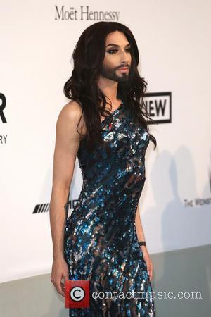 Conchita Wurst - AmFar's 21st Cinema Against Aids Gala - Arrivals - London, United Kingdom - Thursday 22nd May 2014