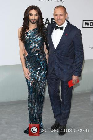 Conchita Wurst and Gery Keszler - AmFar's 21st Cinema Against Aids Gala - Arrivals - London, United Kingdom - Thursday...