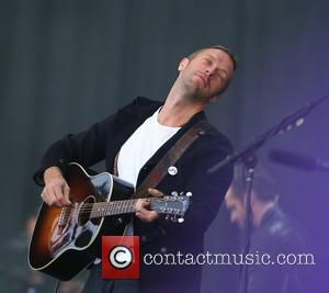 Chris Martin - Kings of Leon open the main stage during the Radio 1 Big Weekend in Glasgow - Glasgow,...