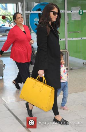 Aishwarya Rai and Aaradhya Bachchan - Aishwarya Rai arrives at Nice Côte d'Azur International Airport with her daughter Aaradhya Bachchan...