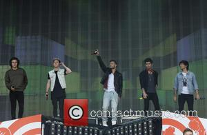 Harry Styles, Niall Horan, Liam Payne, Zayn Malik, Louis Tomlinson and One Direction - BBC Radio 1's Big Weekend at...