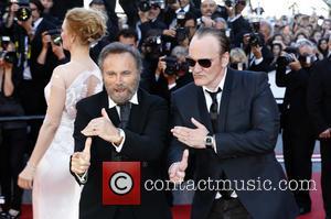 Uma Thurman, Franco Nero and Quentin Tarantino - The 67th Annual Cannes Film Festival - Closing Ceremony - Arrivals -...
