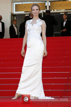 Uma Thurman - The 67th Annual Cannes Film Festival - Closing Ceremony - Arrivals - Cannes, France - Saturday 24th...