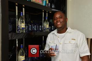 R. Malcolm Jones - Flo Rida attends a private party with friends at Miami Beach - Miami Beach, Florida, United...