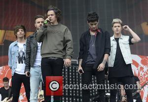 One Direction - BBC Radio 1's Big Weekend at Glasgow Green - Day 1 - Glasgow, United Kingdom - Saturday...